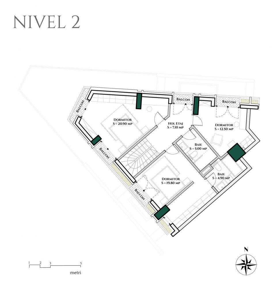 Duplex 5D1 Etaj